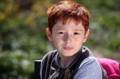 Red-hair boy