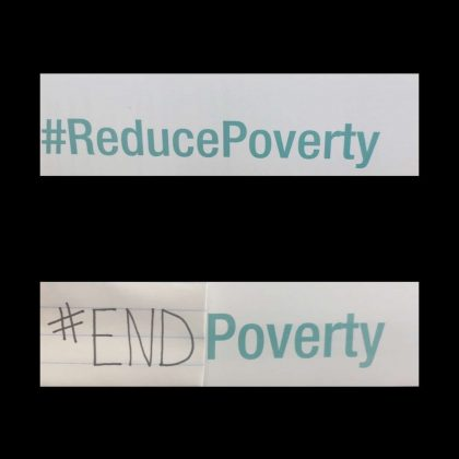 Poverty Conference Text Pic