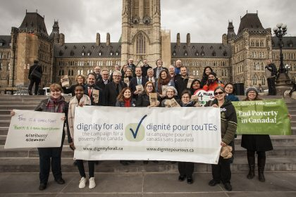 Chew on This! 2018 in Ottawa: Dignity for All on the Parliament Hill